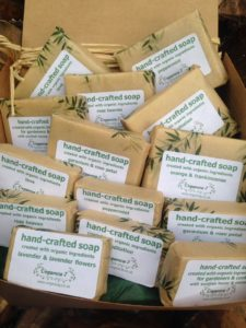win a year's supply of artisan organic soaps